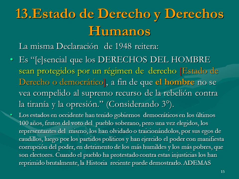 13.Estado de Derecho y Derechos Humanos