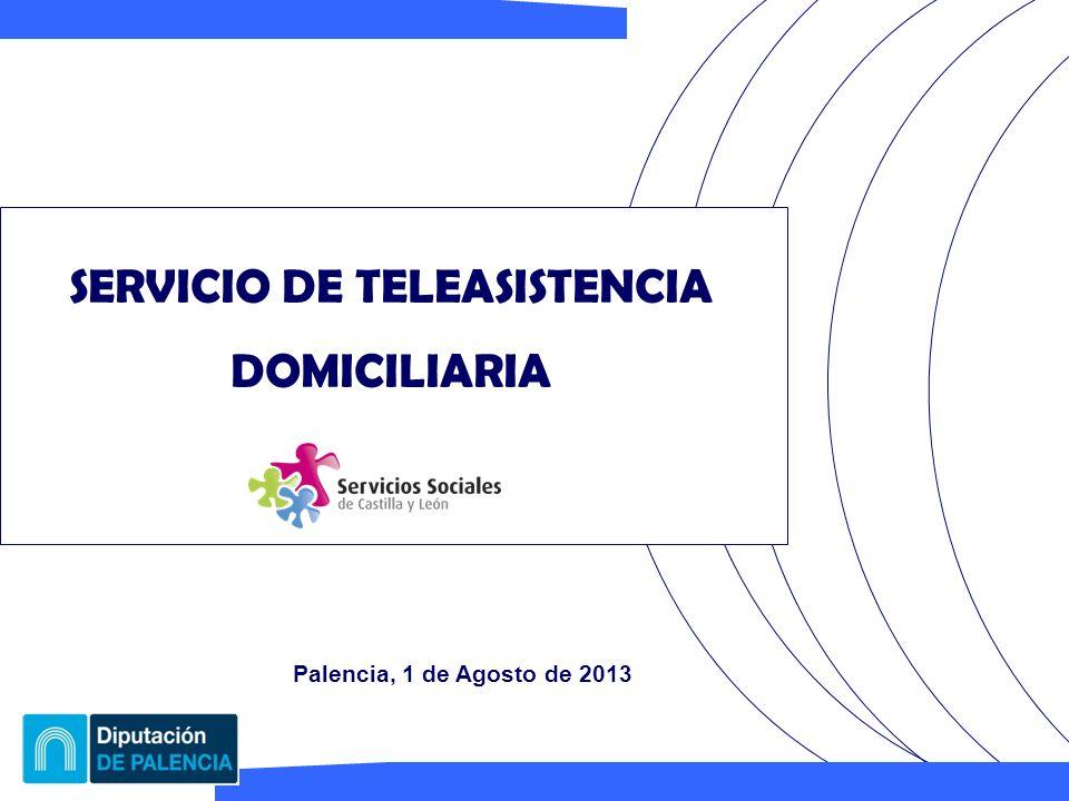 SERVICIO DE TELEASISTENCIA DOMICILIARIA