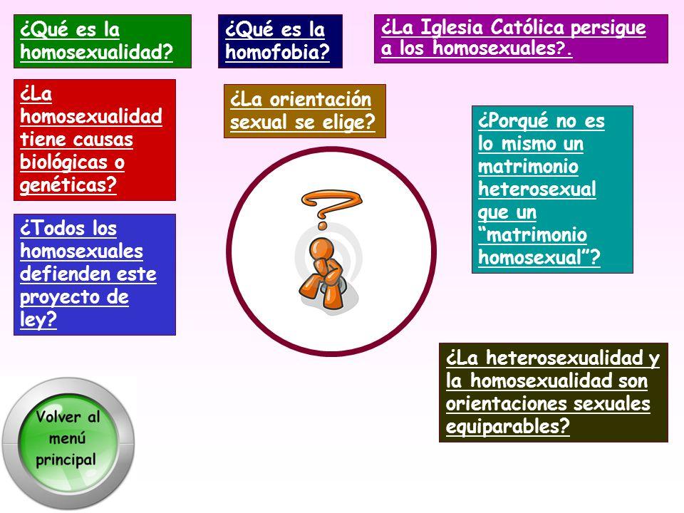 ¿Qué es la homosexualidad