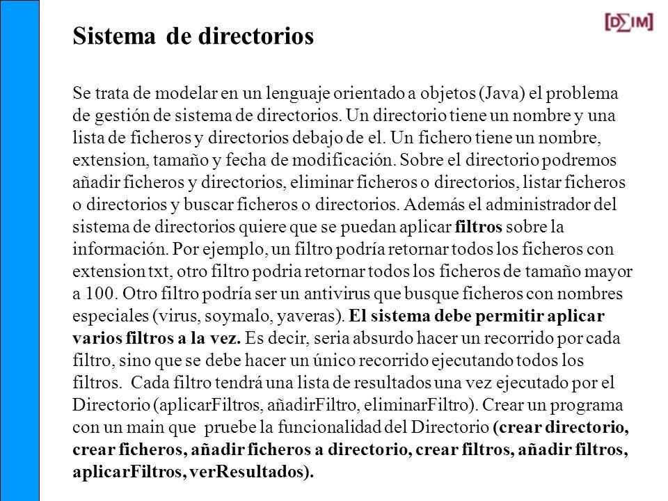 Sistema de directorios