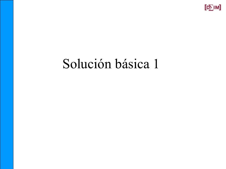 Solución básica 1