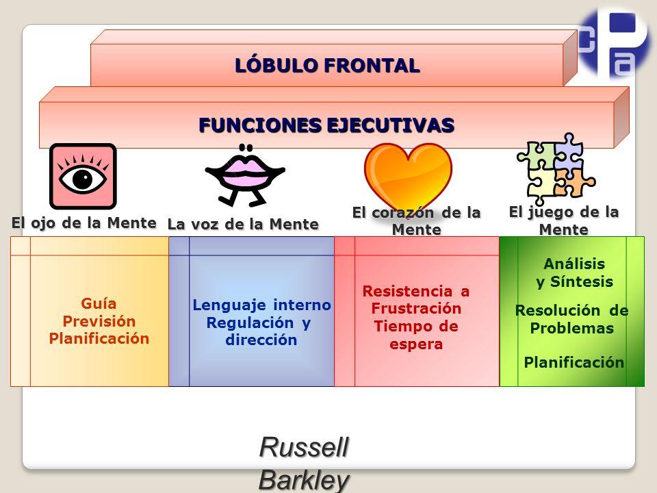Russell Barkley LÓBULO FRONTAL FUNCIONES EJECUTIVAS El corazón de la
