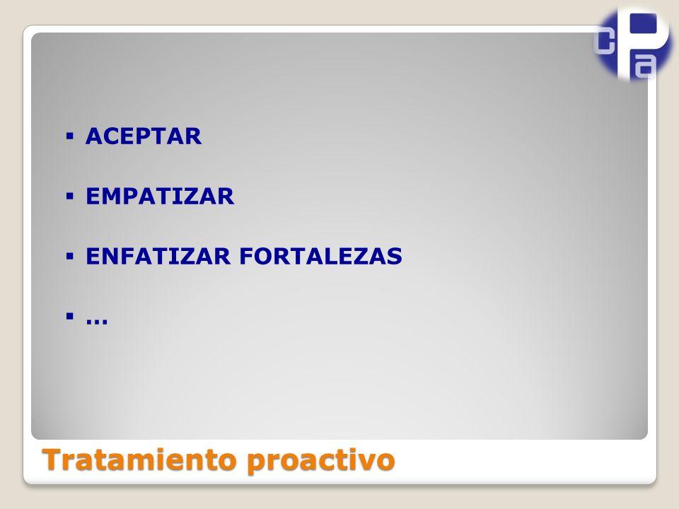 Tratamiento proactivo