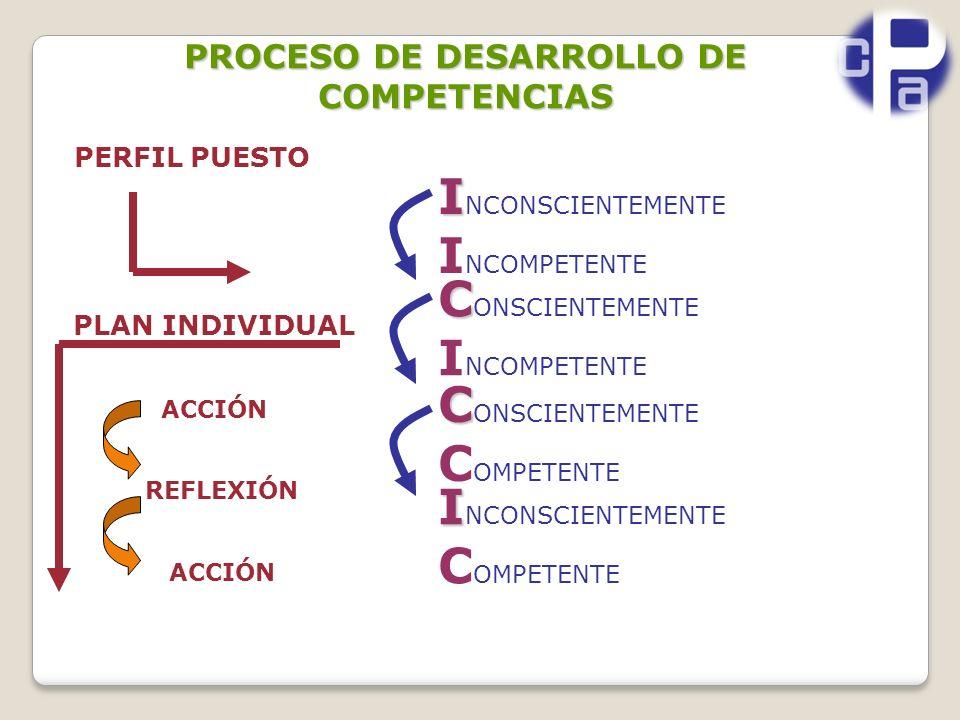 PROCESO DE DESARROLLO DE COMPETENCIAS