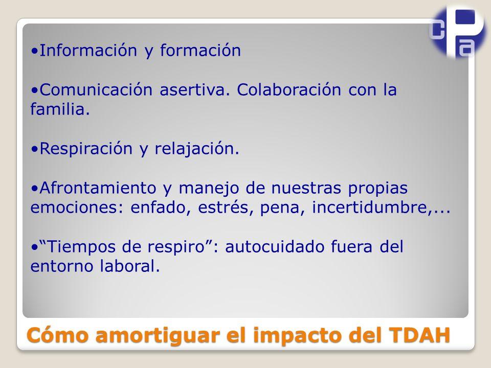 Cómo amortiguar el impacto del TDAH