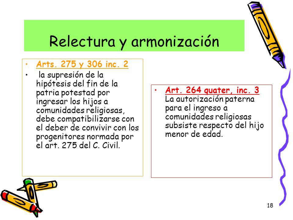 Relectura y armonización