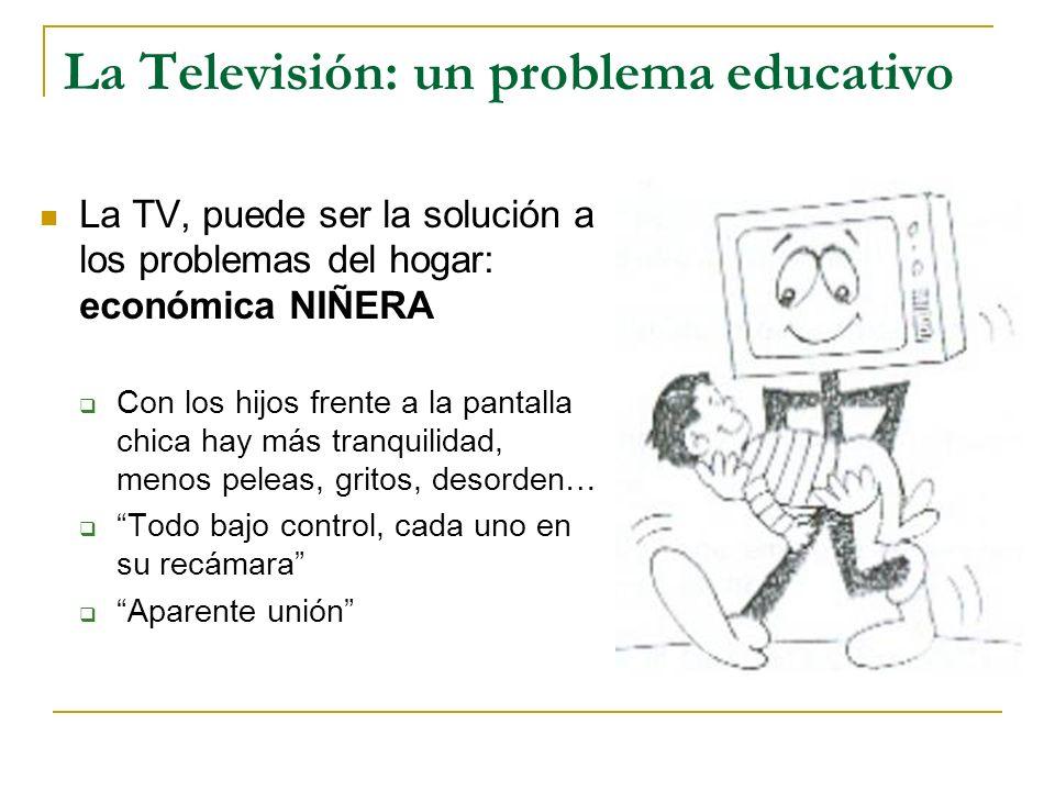 La Televisión: un problema educativo