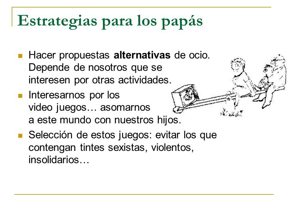 Estrategias para los papás