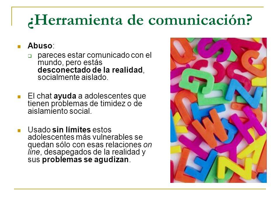 ¿Herramienta de comunicación