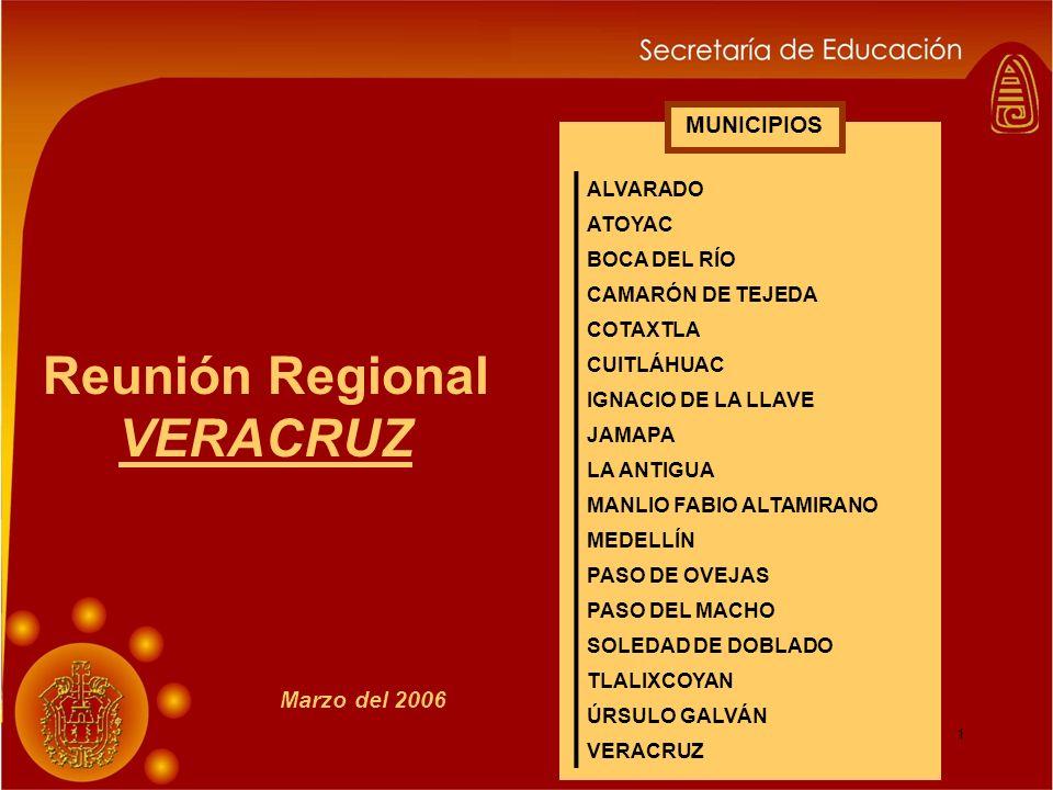 Reunión Regional VERACRUZ