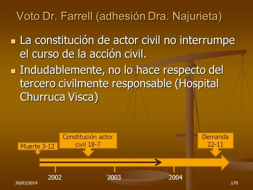 Voto Dr. Farrell (adhesión Dra. Najurieta)