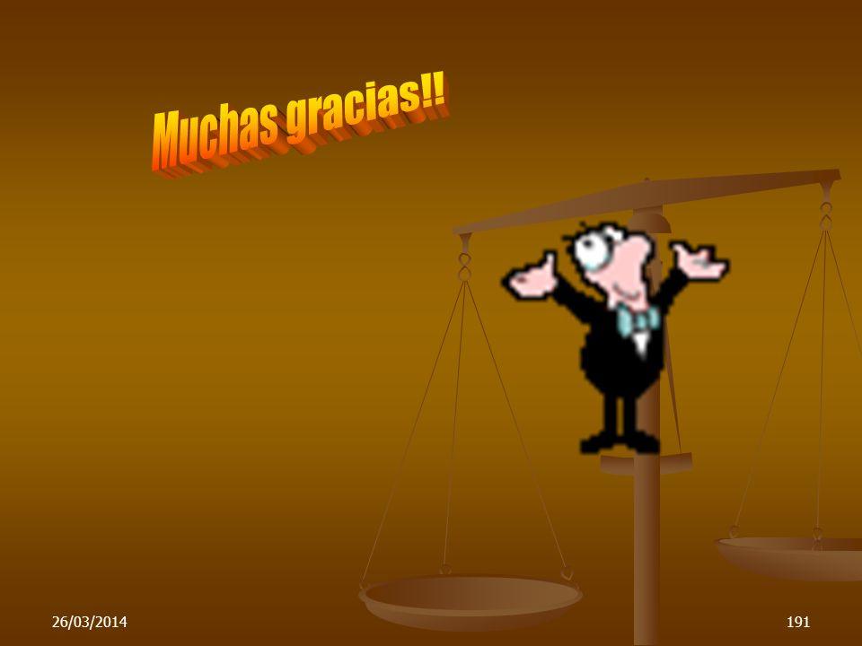 Muchas gracias!! 29/03/2017