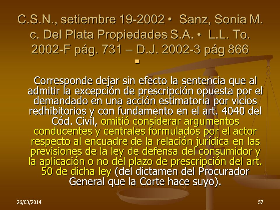 C. S. N. , setiembre 19-2002 • Sanz, Sonia M. c