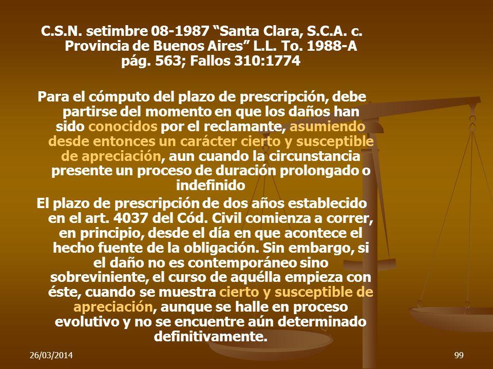 C. S. N. setimbre 08-1987 Santa Clara, S. C. A. c
