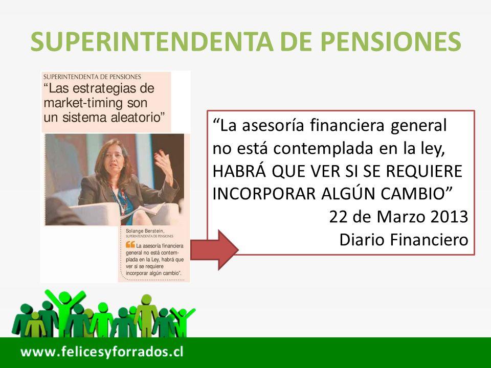 SUPERINTENDENTA DE PENSIONES