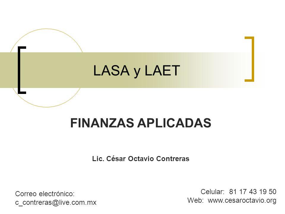 Lic. César Octavio Contreras