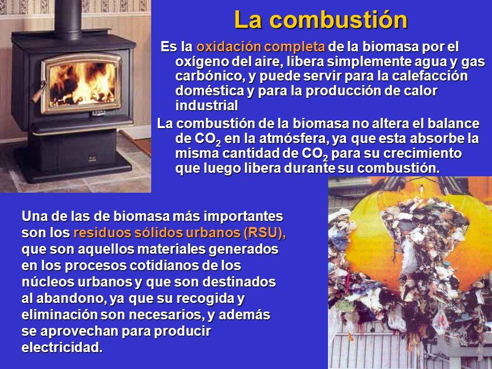 La combustión