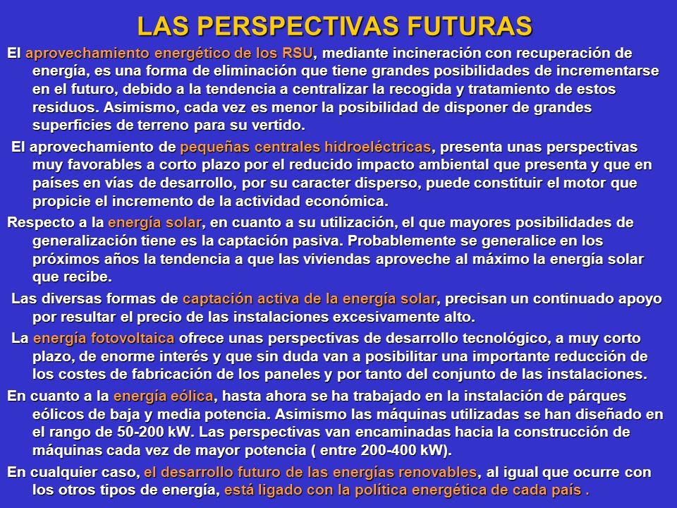 LAS PERSPECTIVAS FUTURAS