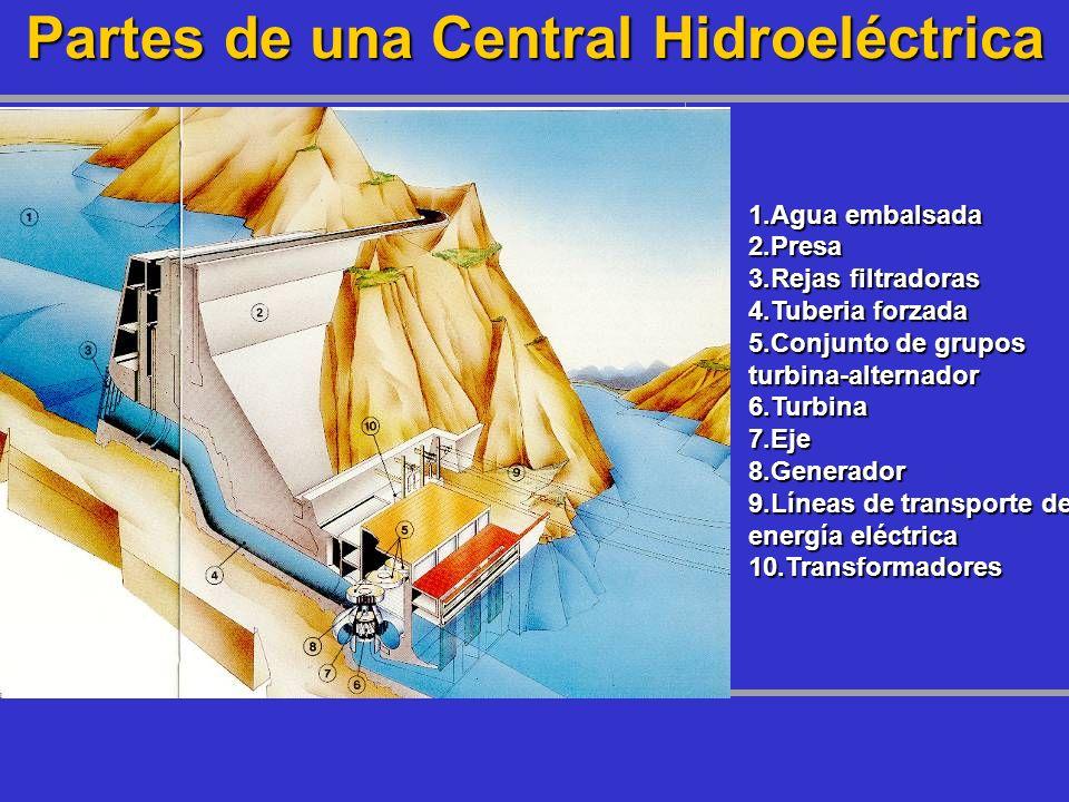 Partes de una Central Hidroeléctrica