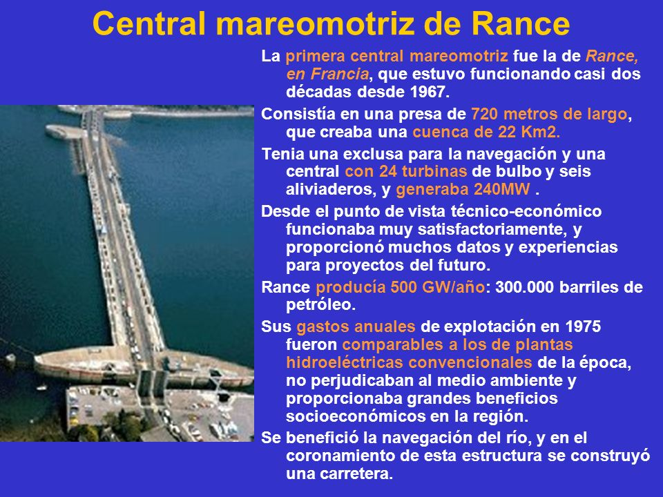 Central mareomotriz de Rance