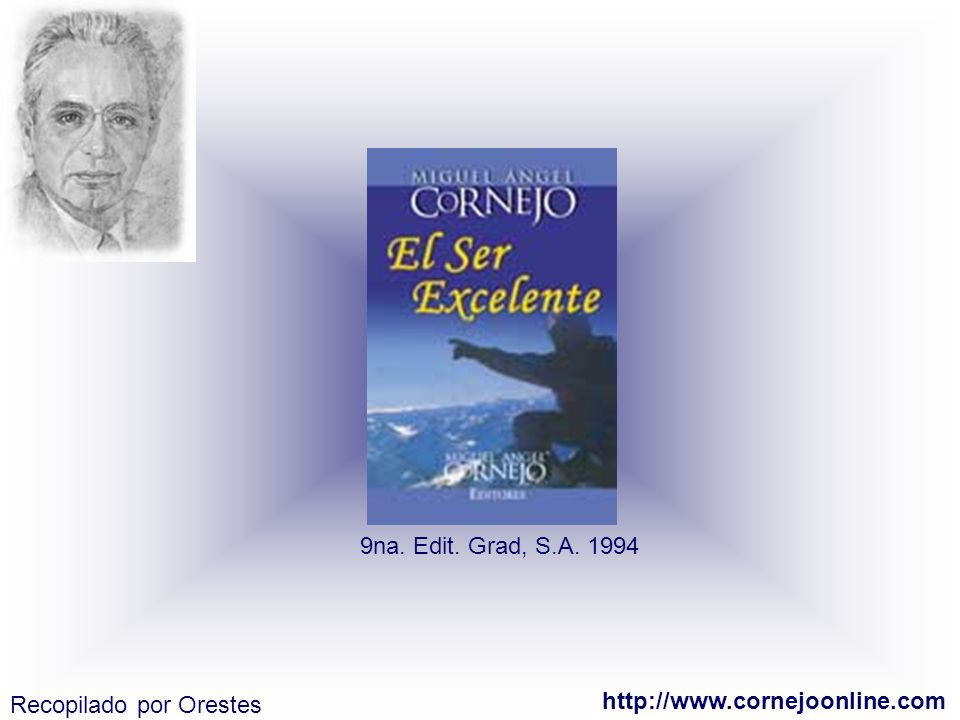 9na. Edit. Grad, S.A. 1994 Recopilado por Orestes http://www.cornejoonline.com