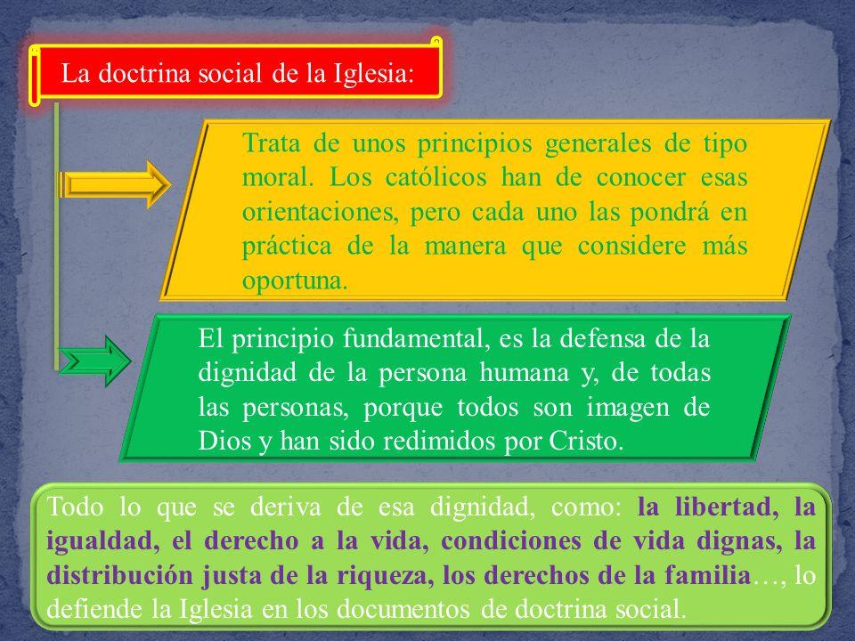 La doctrina social de la Iglesia: