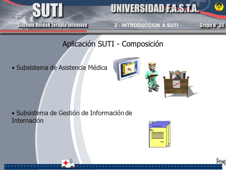 Aplicación SUTI - Composición