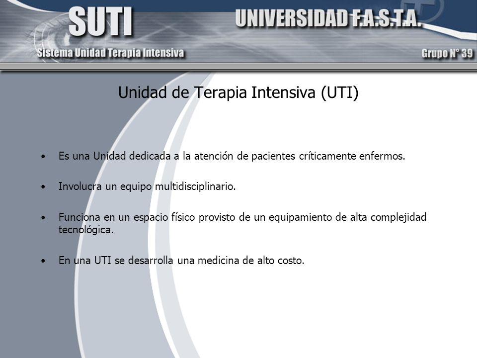 Unidad de Terapia Intensiva (UTI)