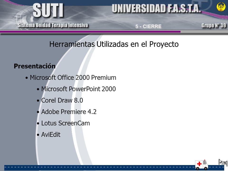 Herramientas Utilizadas en el Proyecto