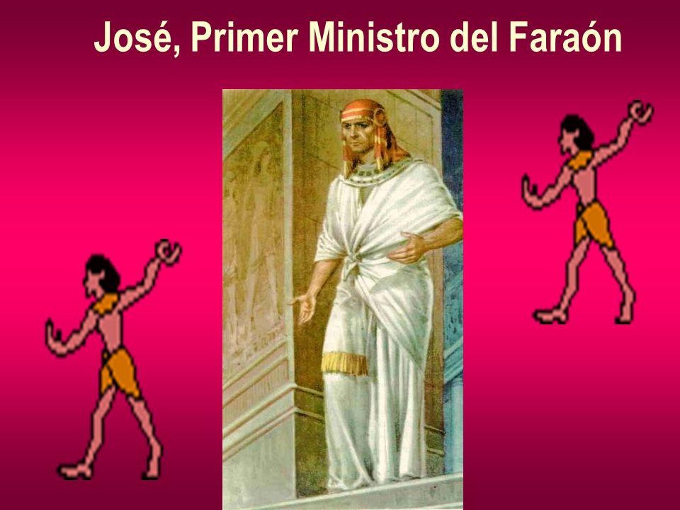 José, Primer Ministro del Faraón