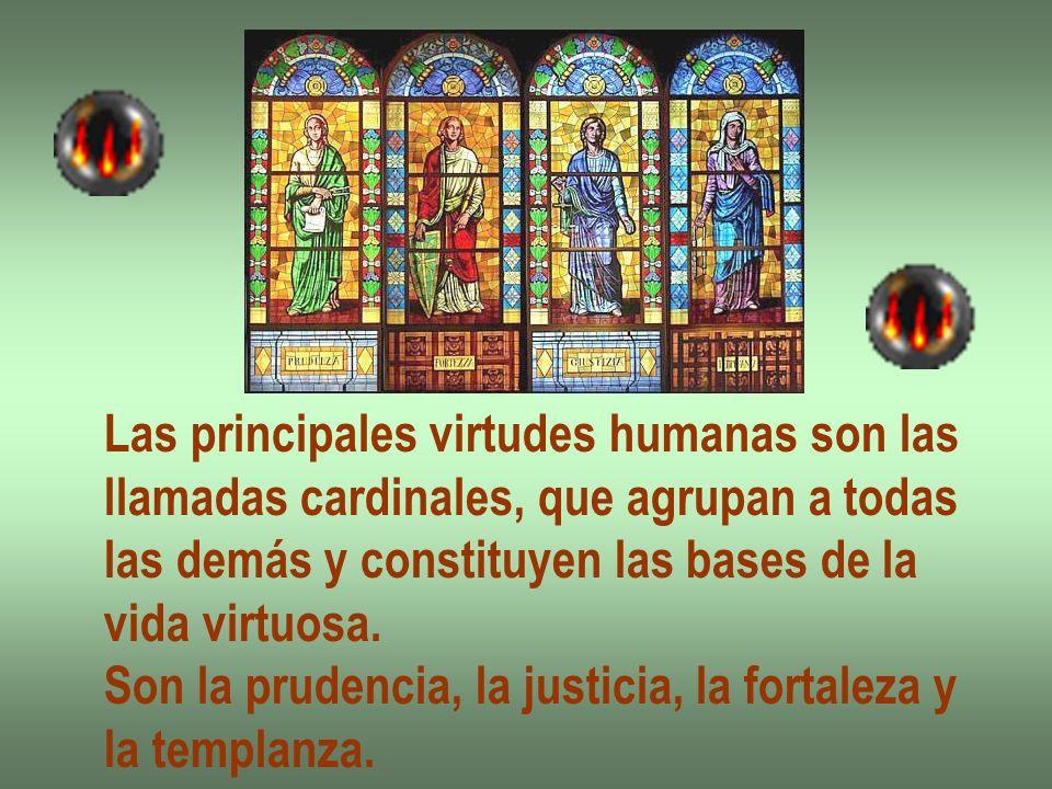 Las principales virtudes humanas son las