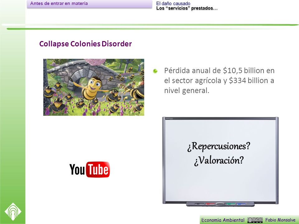 Collapse Colonies Disorder