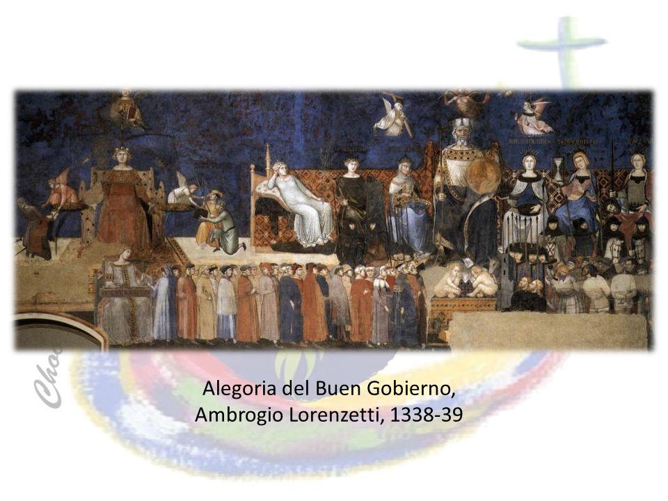 Alegoria del Buen Gobierno, Ambrogio Lorenzetti, 1338-39