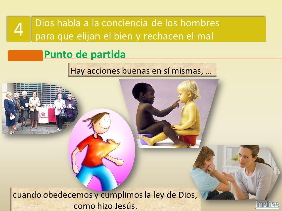 4 Punto de partida Dios habla a la conciencia de los hombres