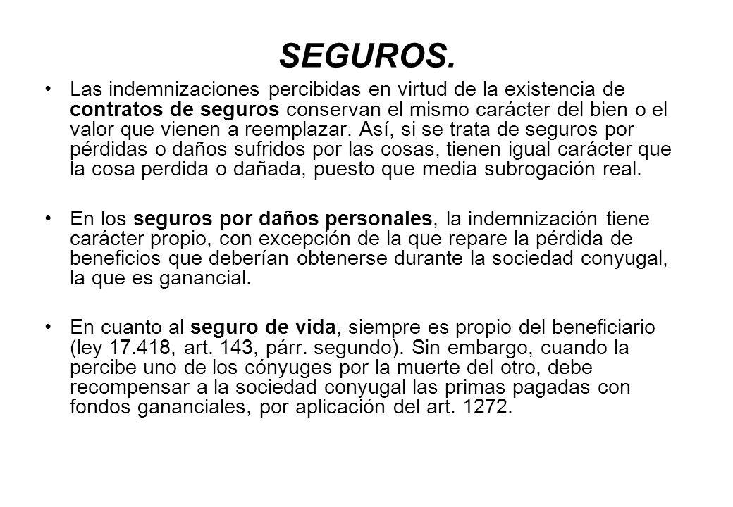 SEGUROS.