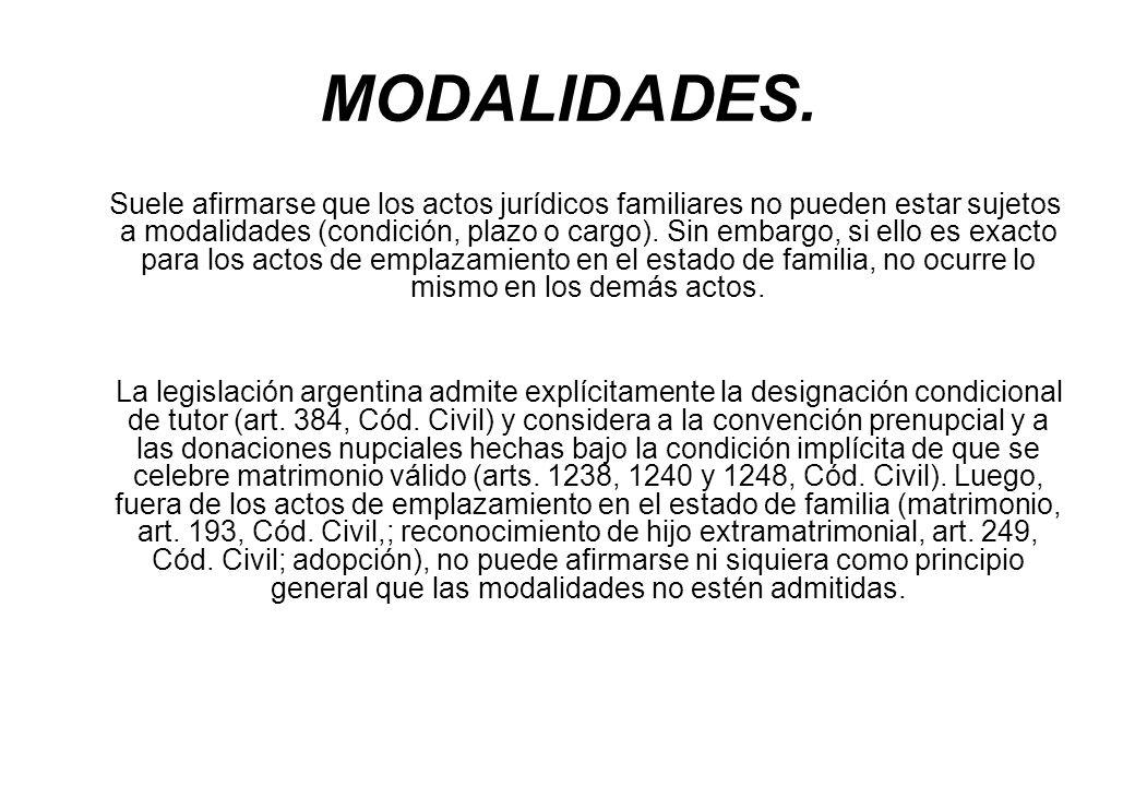 MODALIDADES.