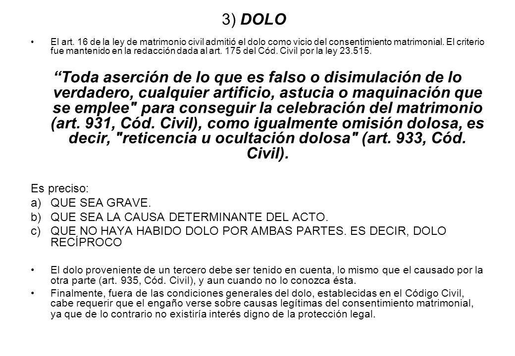 3) DOLO