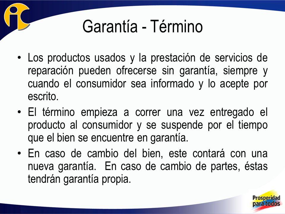 Garantía - Término