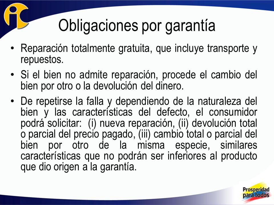 Obligaciones por garantía