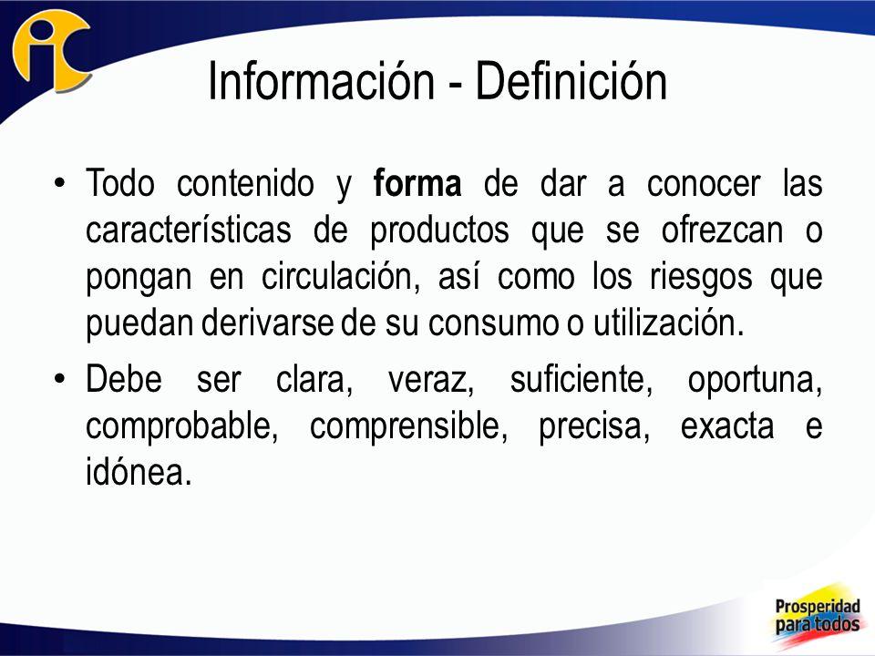 Información - Definición