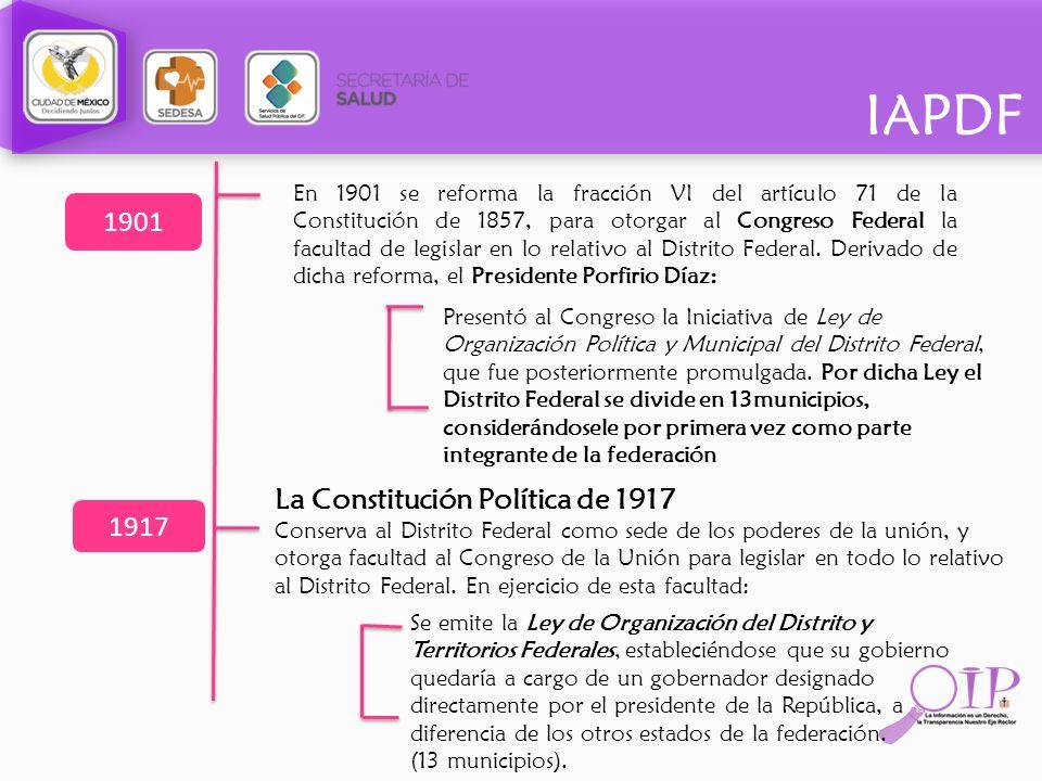 La Constitución Política de 1917 1917
