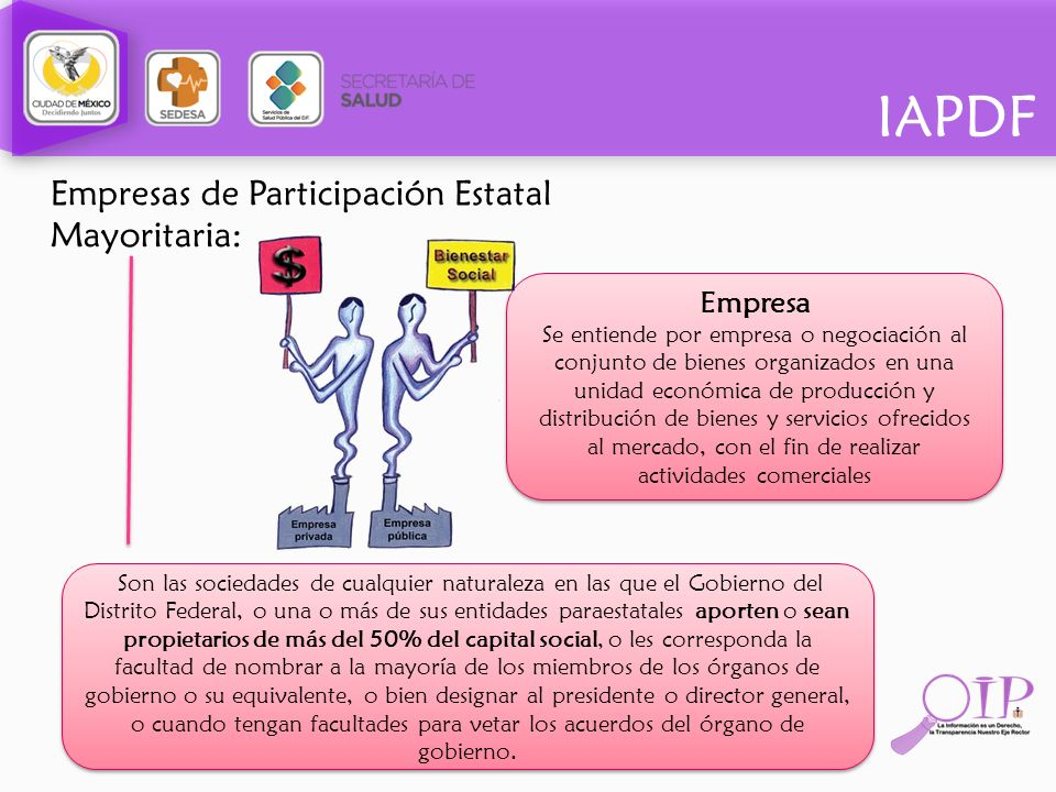 Empresas de Participación Estatal Mayoritaria: