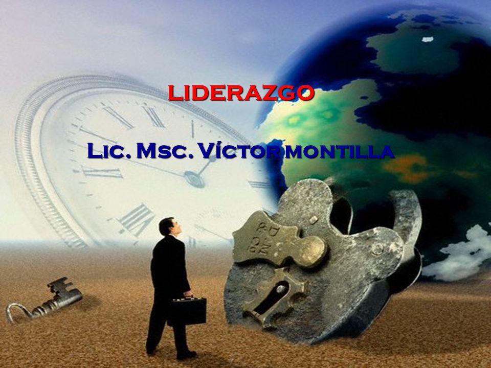 Lic. Msc. Víctor montilla