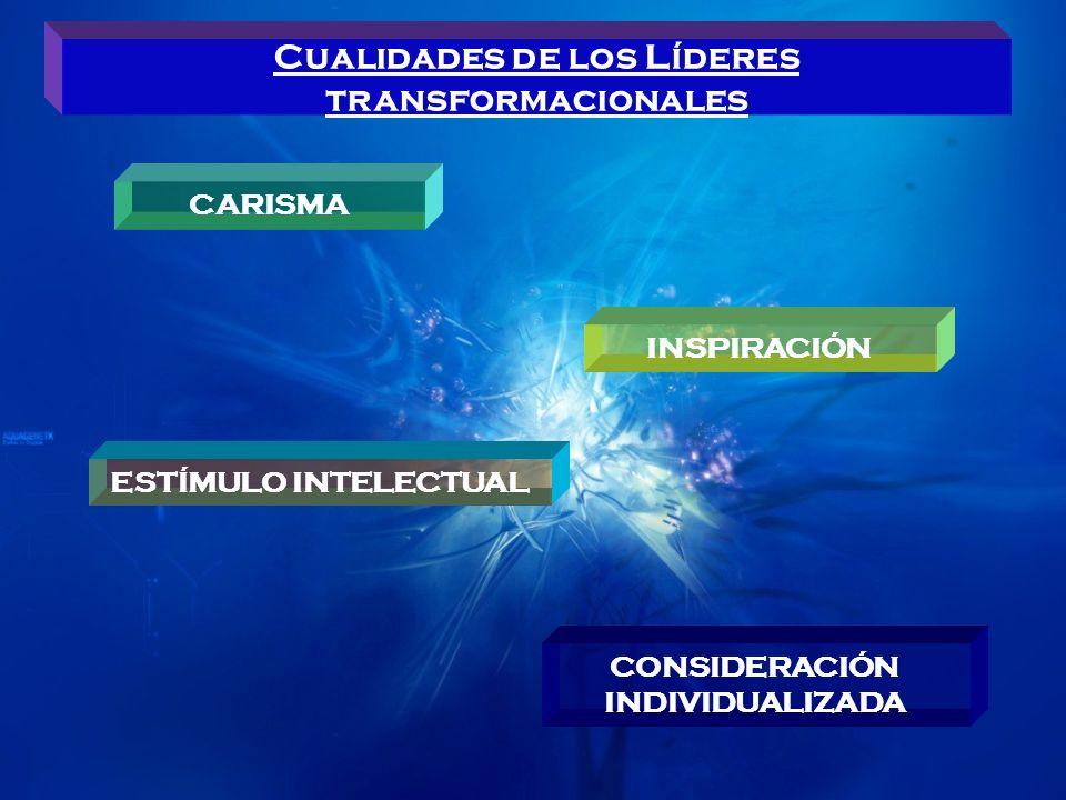 Cualidades de los Líderes transformacionales