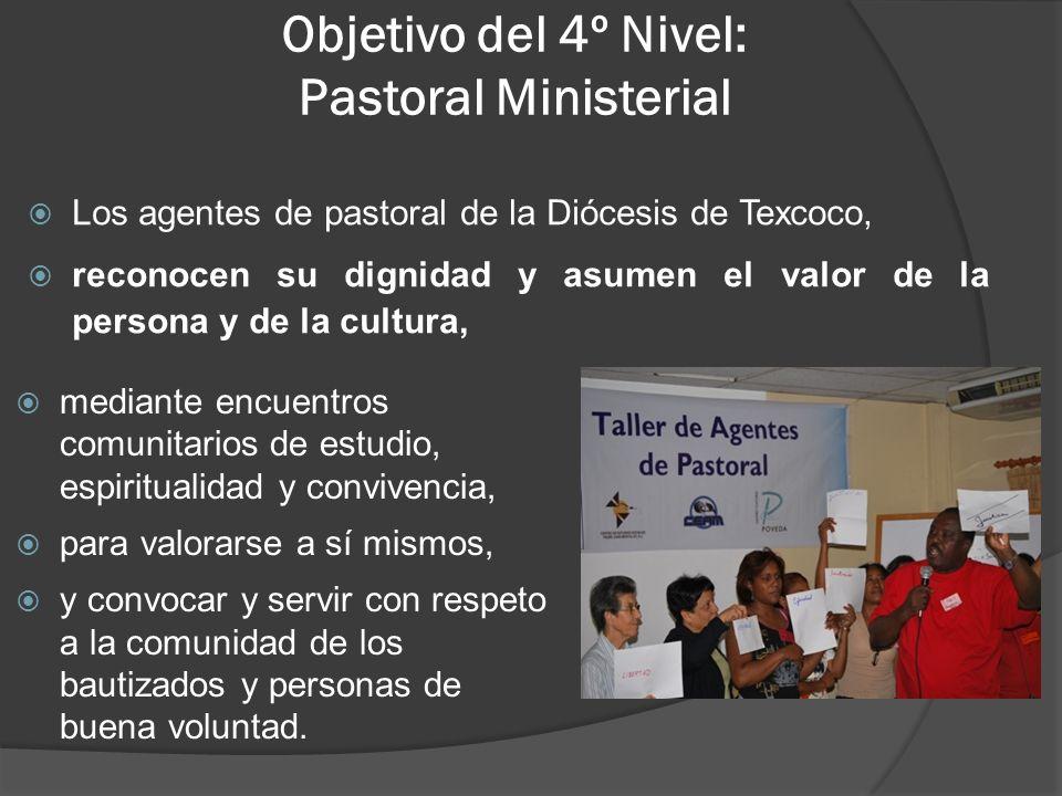 Objetivo del 4º Nivel: Pastoral Ministerial
