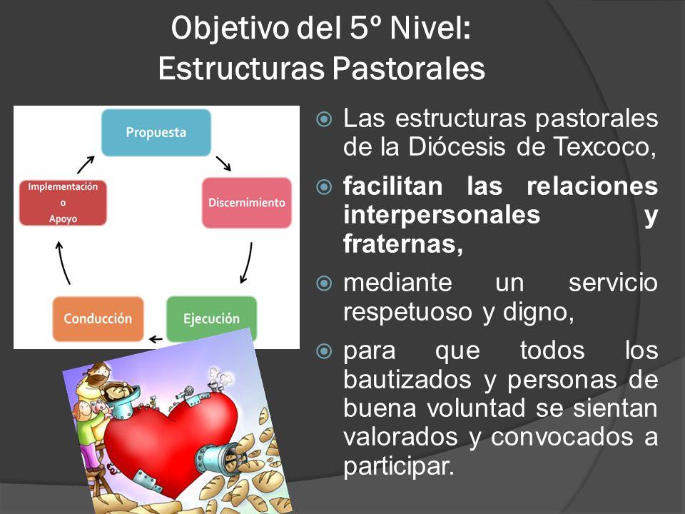 Objetivo del 5º Nivel: Estructuras Pastorales
