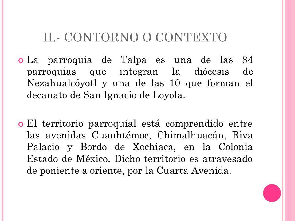 II.- CONTORNO O CONTEXTO
