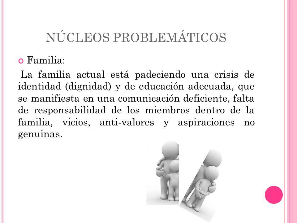 NÚCLEOS PROBLEMÁTICOS