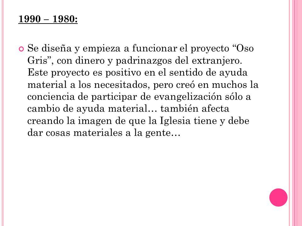 1990 – 1980: