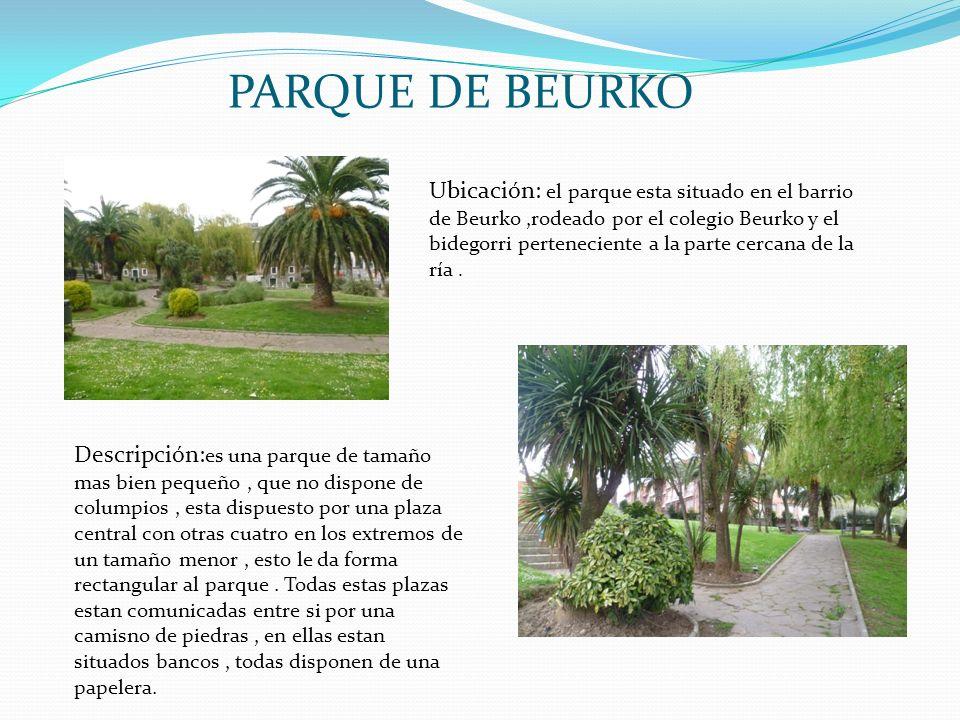 PARQUE DE BEURKO